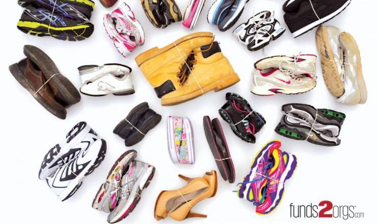Shoe Drive to Benefit Dogs Helping Heroes